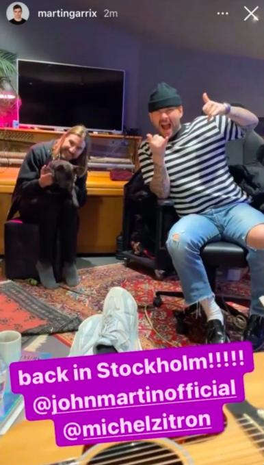 Martin Garrix Instagram Story