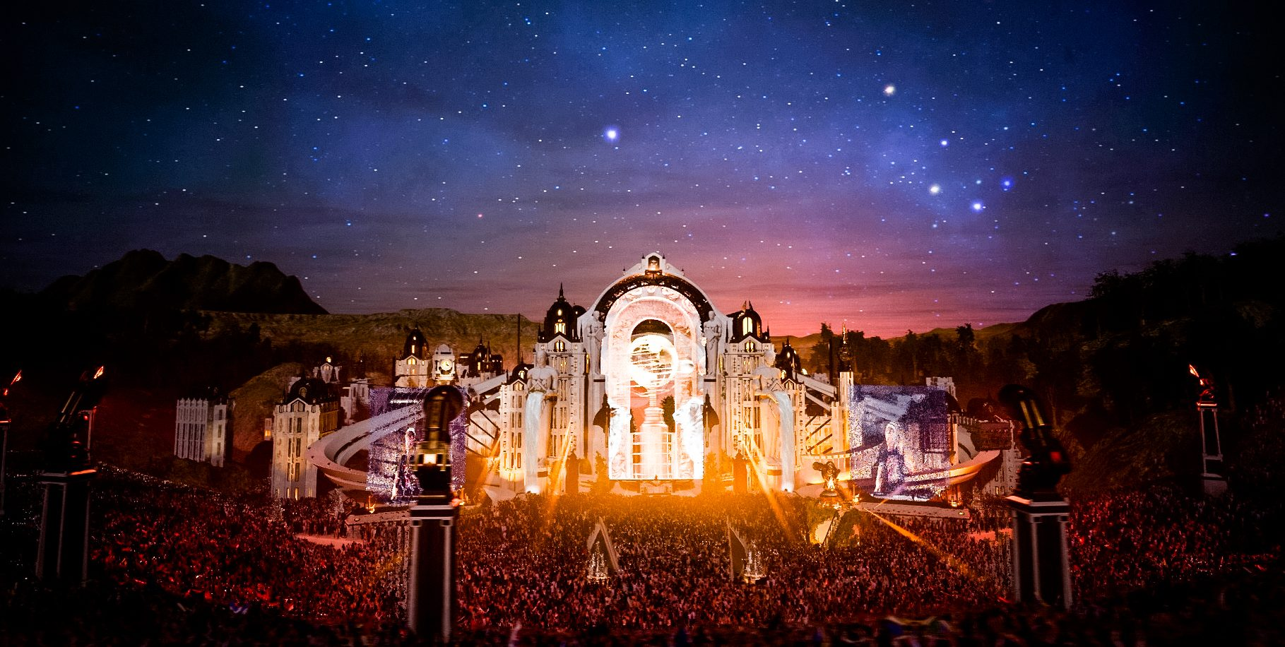 "Tomorrowland digital festival ""Around the World"" 2020"