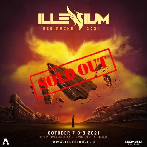 ILLENIUM Returns to Red Rocks for 3 Night Run this Fall