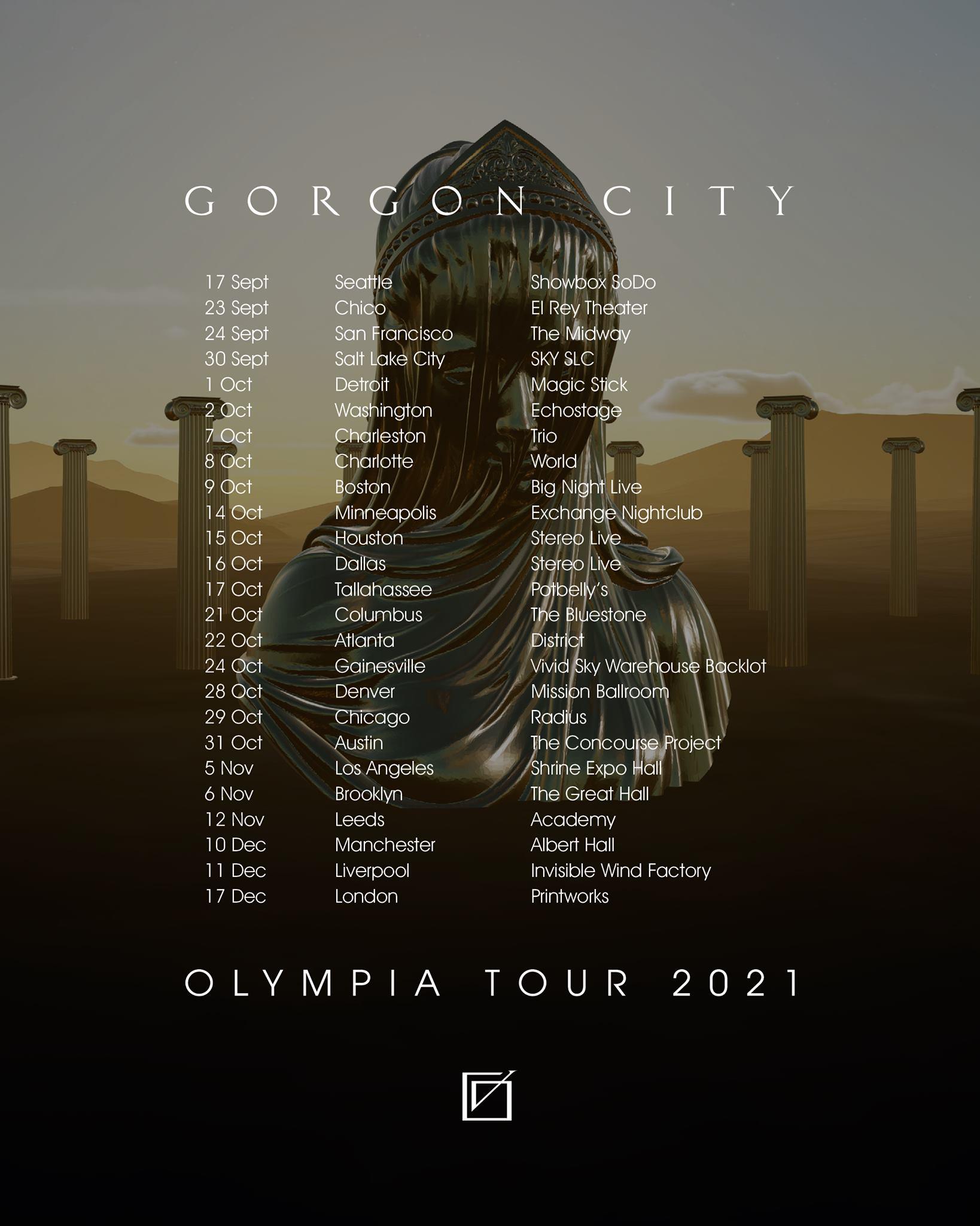 Gorgon City Olympia Tour Dates