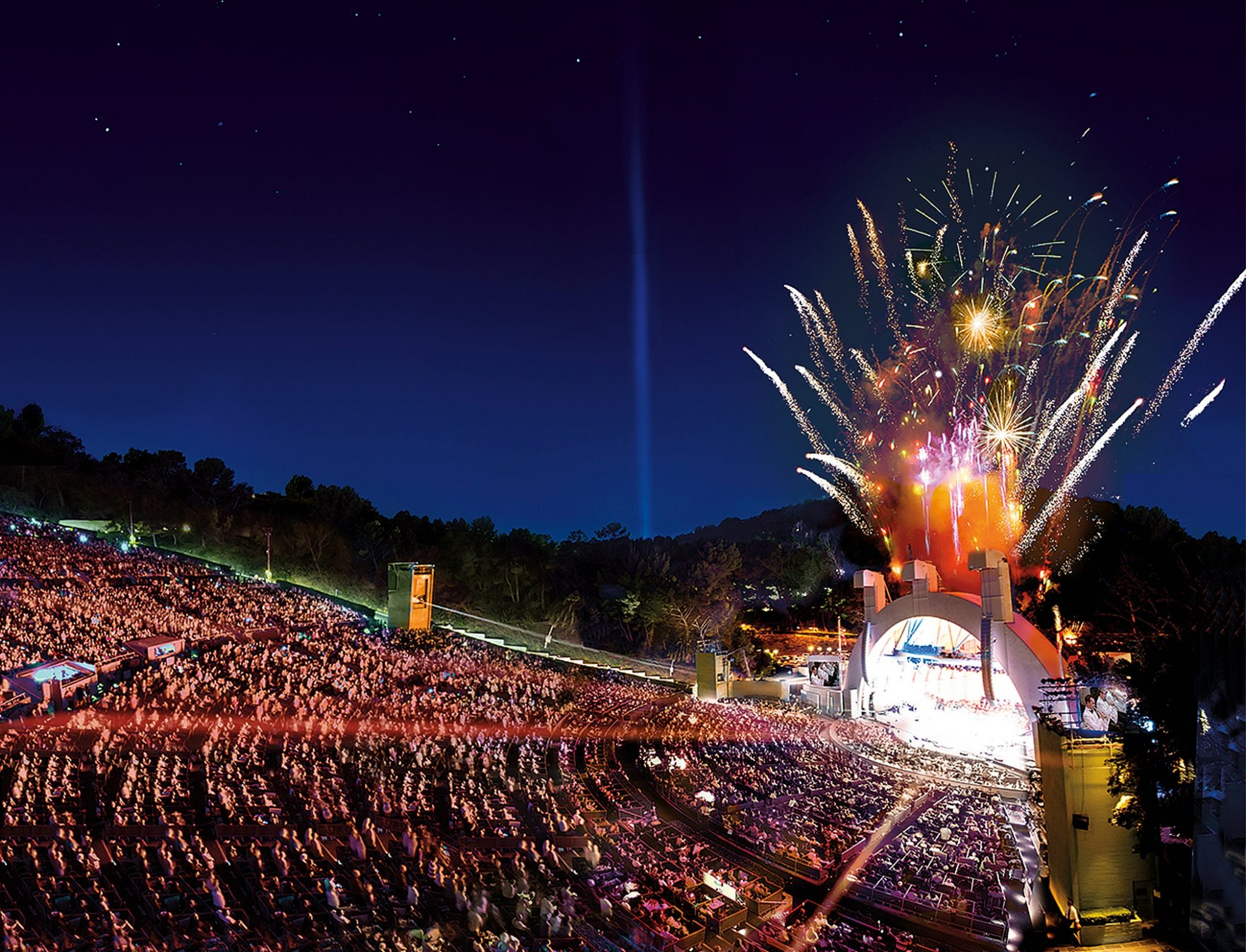 Hollywood Bowl Will Separate Non-Vaccinated from Vaccinated Attendees