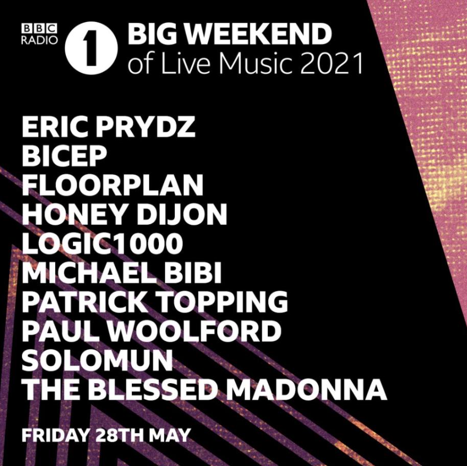 [LISTEN] Eric Prydz' BBC Radio 1 Big Weekend Set