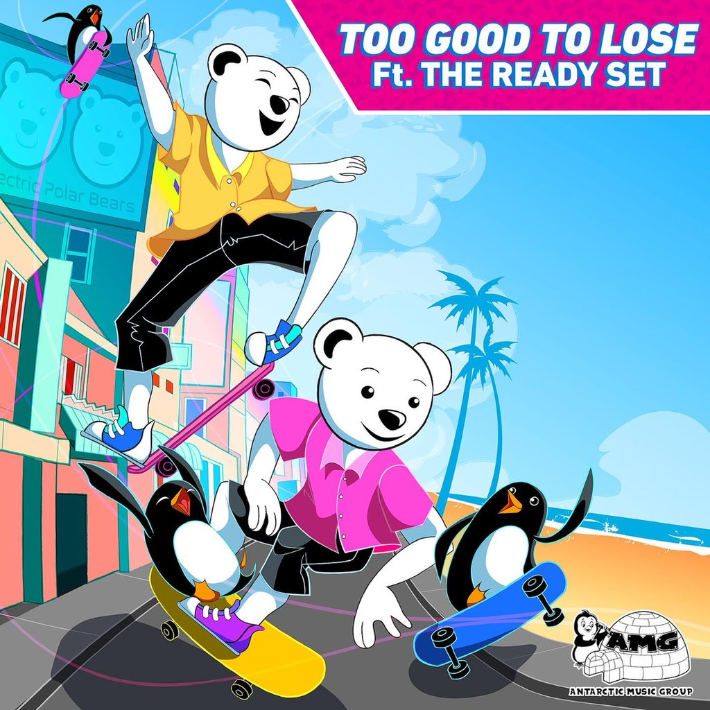 """Electric Polar Bears Drop Moving Summer Anthem """"Too Good To Lose""""!"""