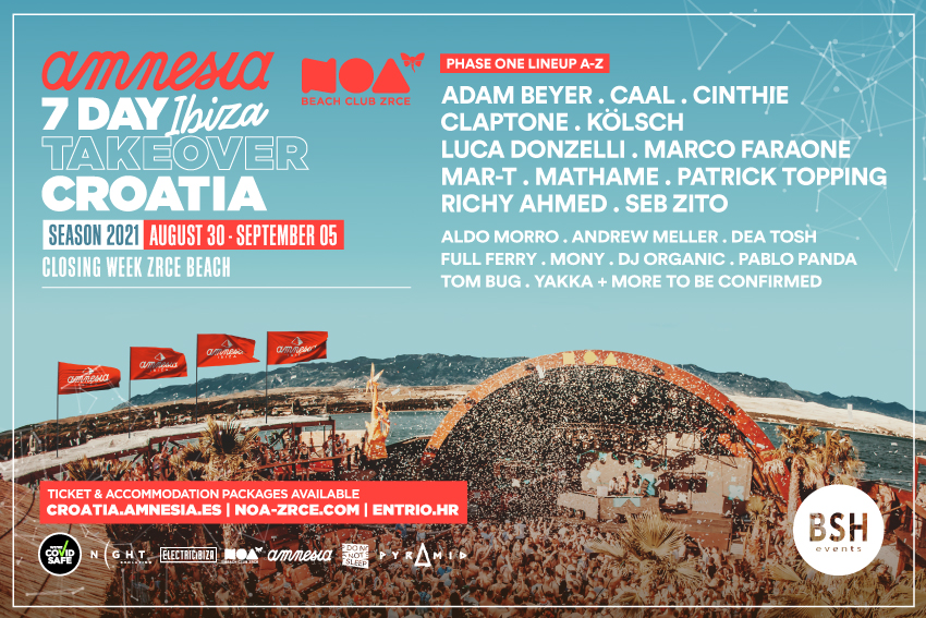 Amnesia Ibiza Croatia