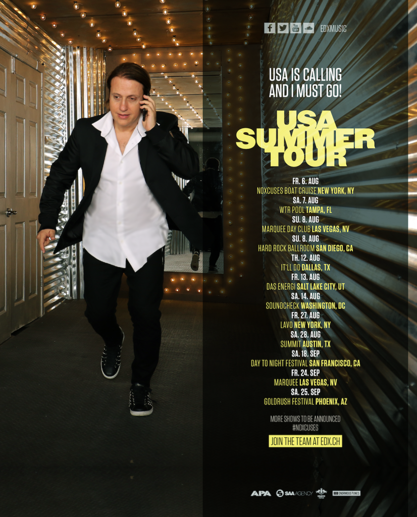 Save the dates: EDX to embark on USA Summer TourED USA Summer Tour Poster