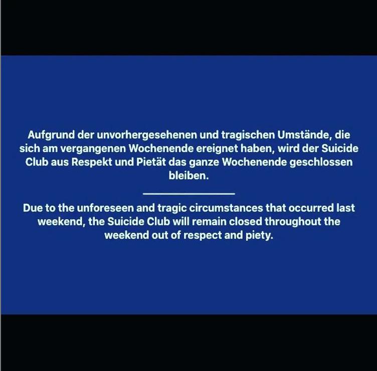 Suicide Circus closing statement.