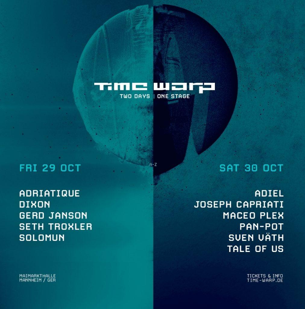 Time Warp Festival Lineup