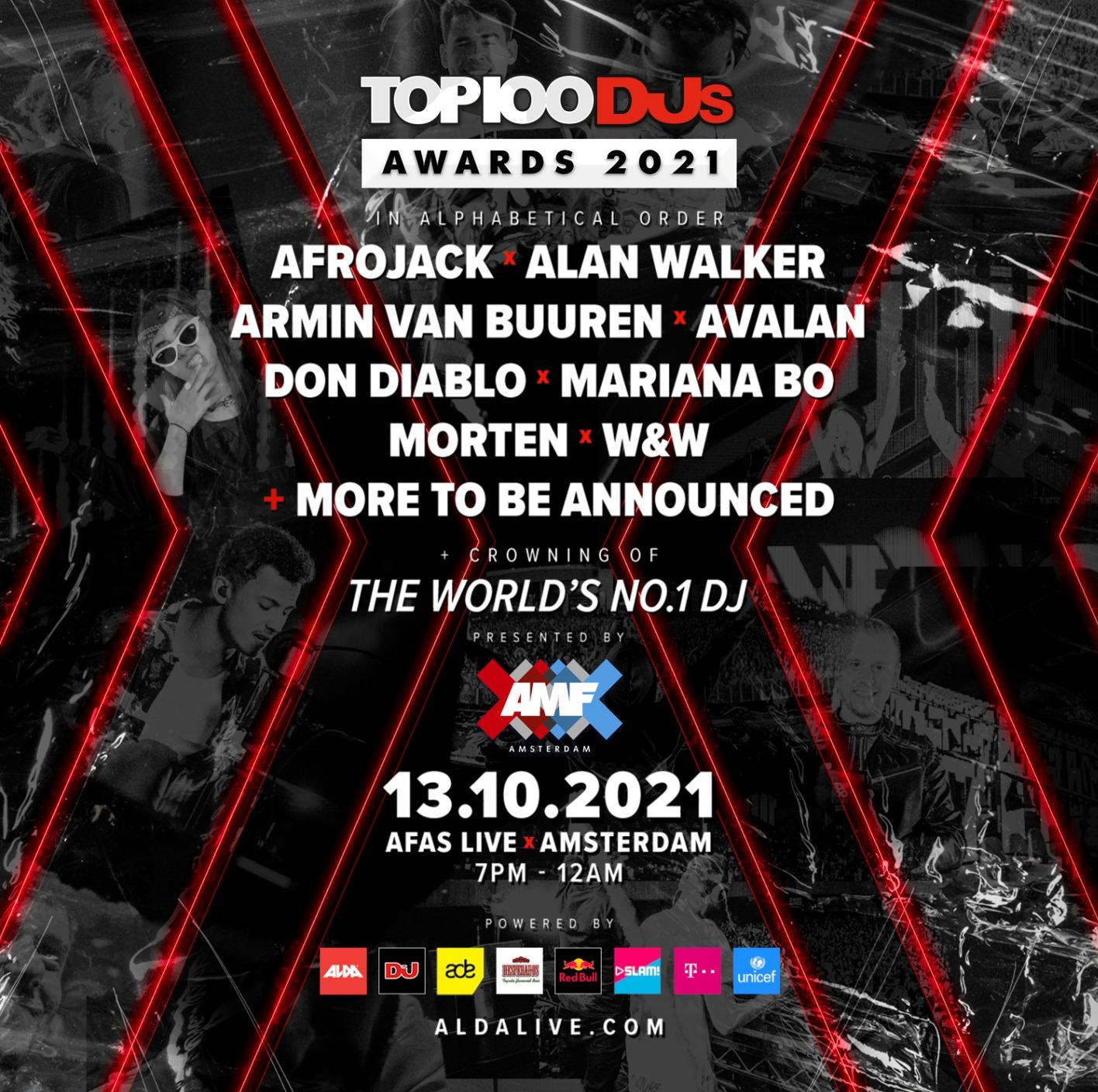 New Top 100 DJs Awards Show Announced for ADE 2021